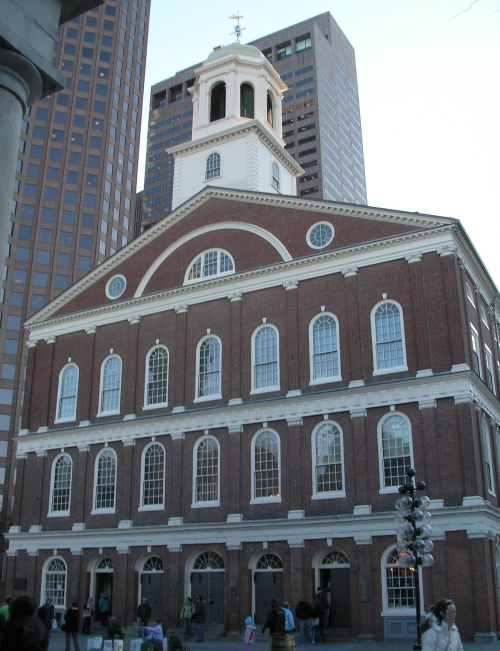 Architecture Buildings In Boston freedom trail |
