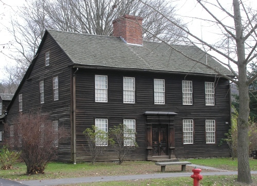 Historic deerfield historic buildings of massachusetts for Allen house
