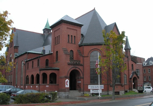 Wesley United Methodist Church, Salem (1888) | Historic Buildings of ...
