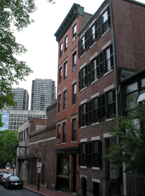 Site of former 8 Belnap Street in Boston