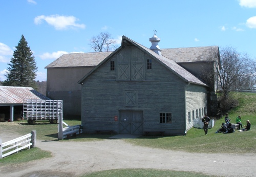 Additions to 1910 barn