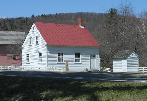 Replica of Hancock Shaker Village Schoolhouse